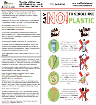 Say No! To Single-Use Plastic