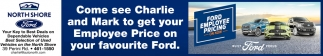 Come See Charlie And Mark To Get Your Employee Price On Your Favourite Ford.