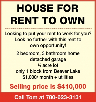 House for Rent to Own
