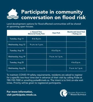 Participate in Community Conversation On Flood Risk