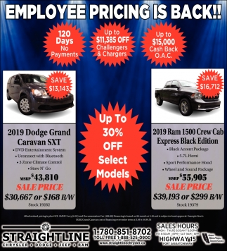 Employee Pricing Is Back!!