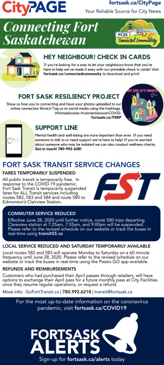 Connecting Fort Saskatchewan