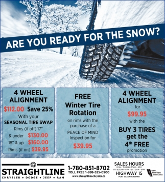 Are You Ready For The Snow?
