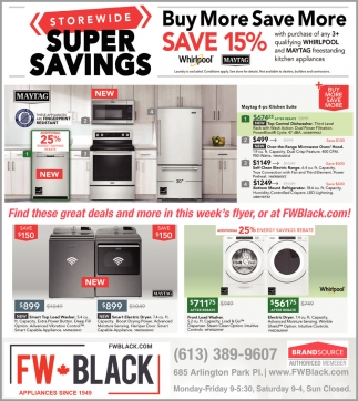 Storewide Super Savings
