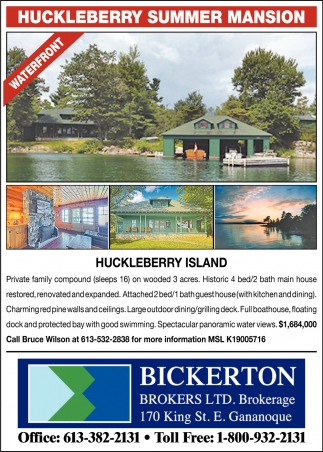 Huckleberry Summer Mansion