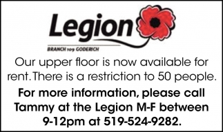 Our Upper Floor Is Now Available For Rent.