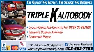 The Quality You Expect, The Service You Deserve!!