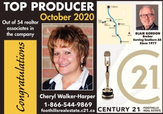 Top Producer October 2020