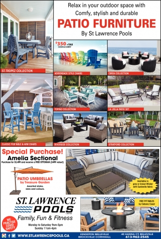 Relax in Your Outdoor Space with Comfy, Stylish and Durable Patio Furniture