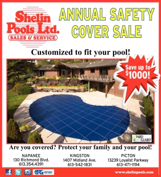 Annual Safety Cover Sale