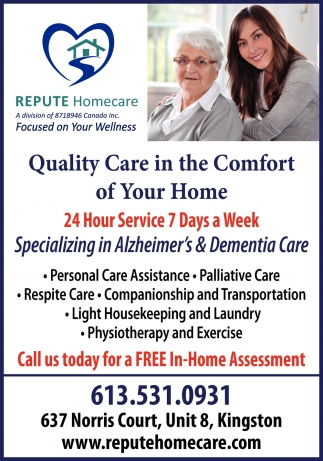 Quality Care in the Comfort of Your Home