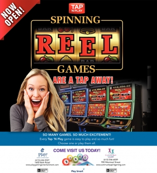 Spinning Reel Games are a Tap Away!