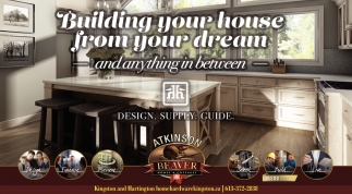 Building Your House from Your Dream and Anything in Between