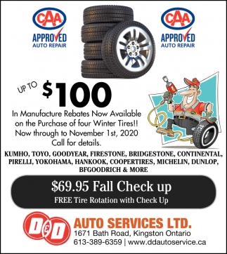FREE Tire Rotation with Check Up