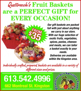 Fruit Baskets are a Perfect Gift for Every Occasion!