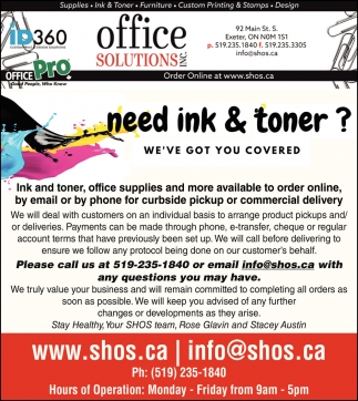 Ned Ink & Toner?