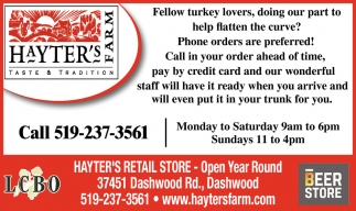 Fellow Turkey Lovers, Doing Our Part To Help Flatten The Curve?