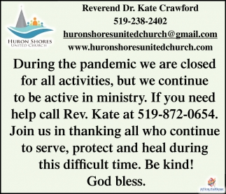 Reverend Dr. Kate Crawford