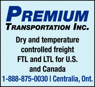 Dry And Temperature Controlled Freight