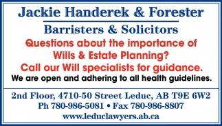 Questions About The Importance Of Wills & Estate Planning?