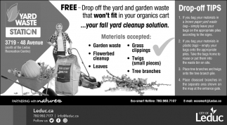 Yard Waste Station