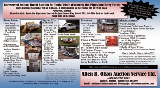 Unreserved Online Timed Auction