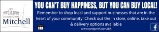 You Can't Buy Happiness, But You Can Buy Local!