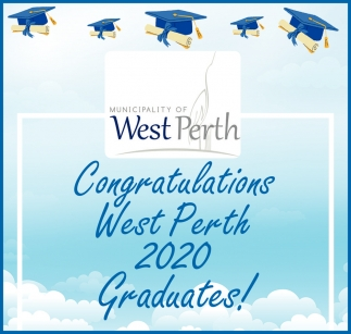 Congratulations West Perth 2020 Graduates!