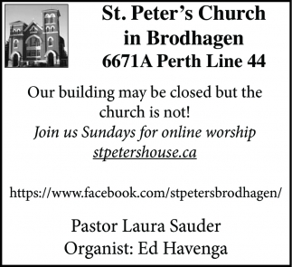 Our Building May Be Closed But The Church Is Not!