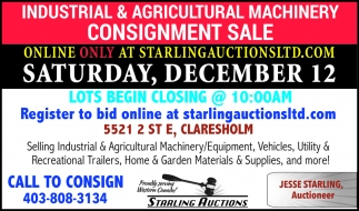 Call To Consign