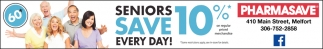 Seniors Save Every Day!