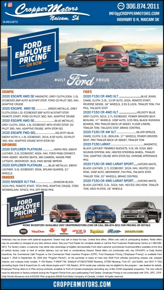 Ford Employee Pricing On Now