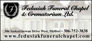 Fedusiak Funeral Chapel & Cremation Ltd