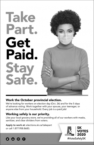 Take Part. Get Paid. Stay Safe.