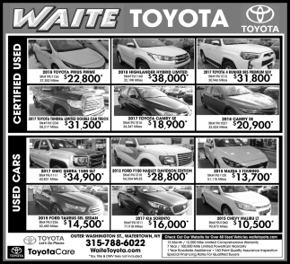 Used & Certified Cars