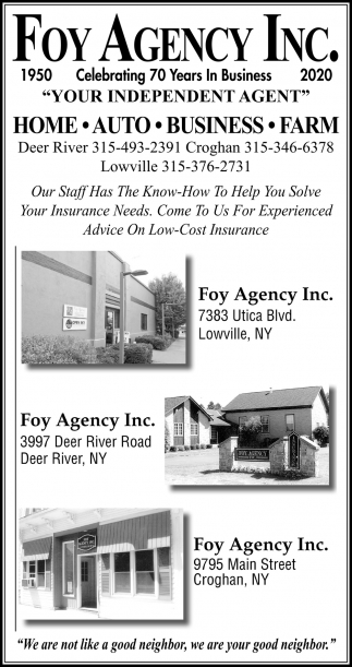 Your Independent Agent