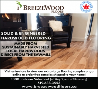 Solid & Engineered Hardwood Flooring