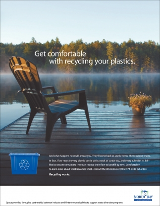 Get Comfortable with Recycling Your Plastics