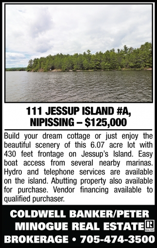 111 Jessup Island #A, Nissiping