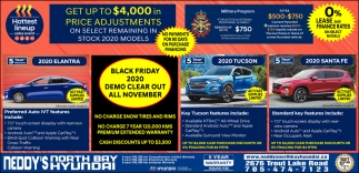 Black Friday 2020 Demo Clear Out All November