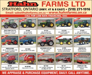 We Appraise & Purchase Equipment, Daily, Call Anytime.