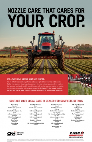 Nozzle Care That Cares For Your Crop