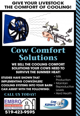 Give Your Livestock The Comfort Of Cooling!