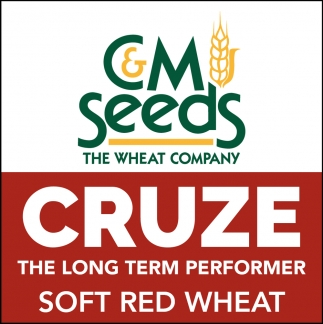 Cruze The Long Term Performer. Soft Red Wheat.