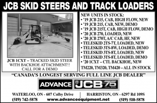 JCB Skid Steers And Track Loaders