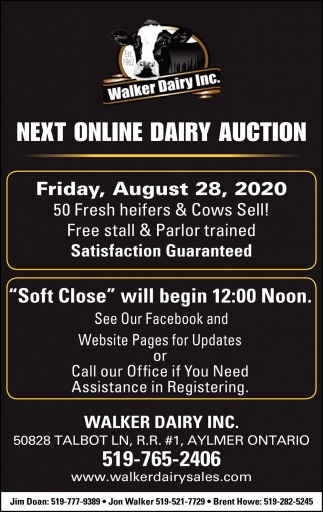 Next Online Dairy Auction