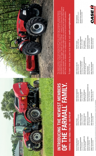 Introducing The Newest Members Of The Farmall Family