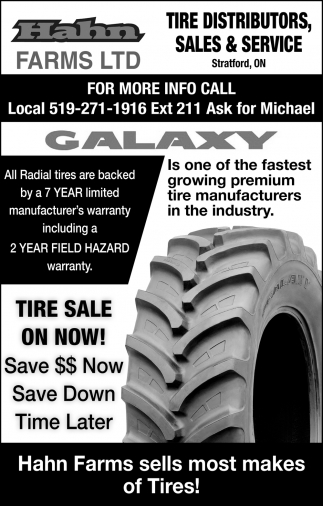 Tire Distributors, Sales & Service