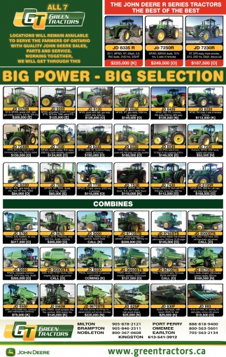 Big Power - Big Selection