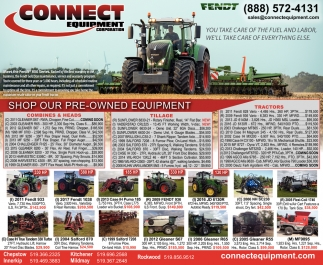 Shop Our Pre-Owned Equipment